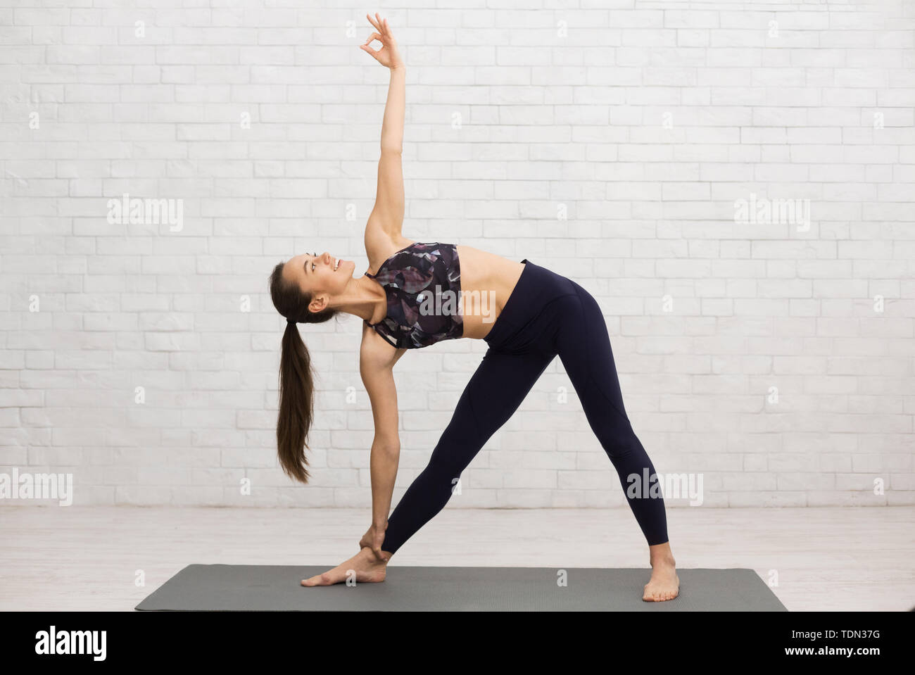 Triangle Pose Photography