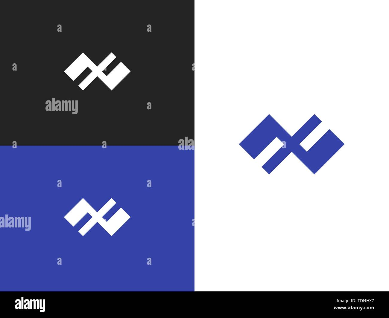 Logo design template element  Slavic amulet symbol  Abstract