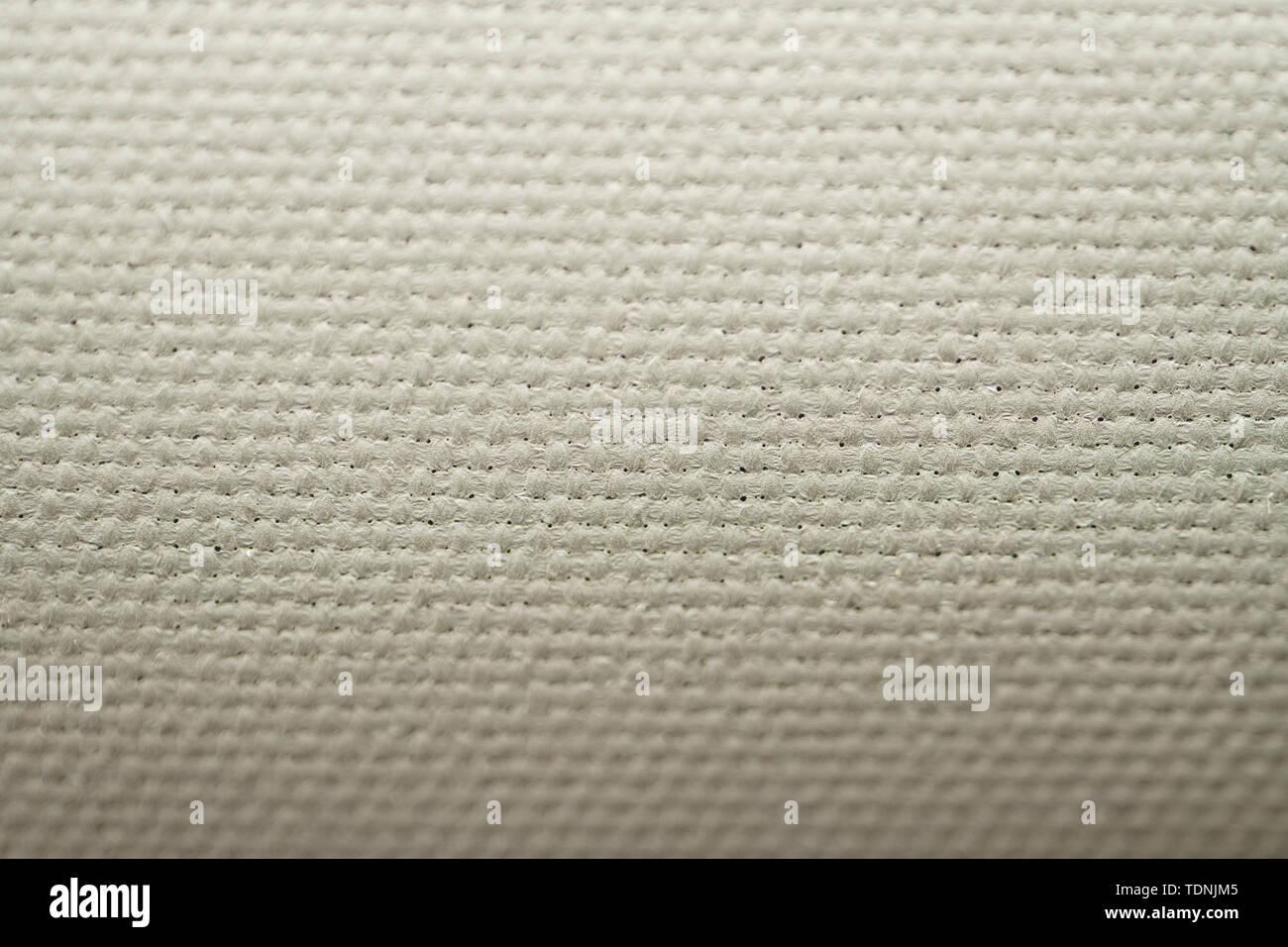White Nylon Synthetic Textile Material Background Texture Stock
