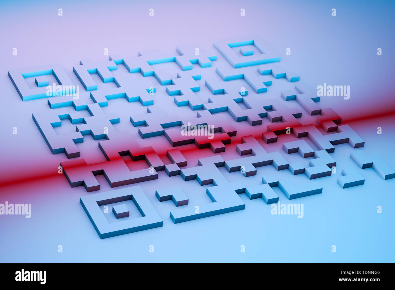 Qr Code Abstract Design Stock Photos & Qr Code Abstract Design Stock