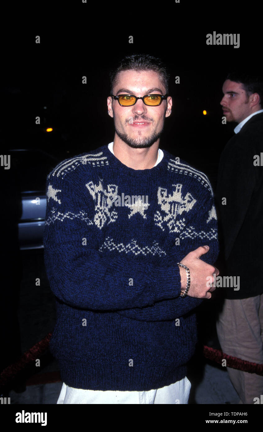 Nov 04, 1998; Los Angeles, CA, USA; Actor BRIAN AUSTIN GREEN @ the Beverly Hills 90210 250th Episode Party..  (Credit Image: Chris Delmas/ZUMA Wire) - Stock Image