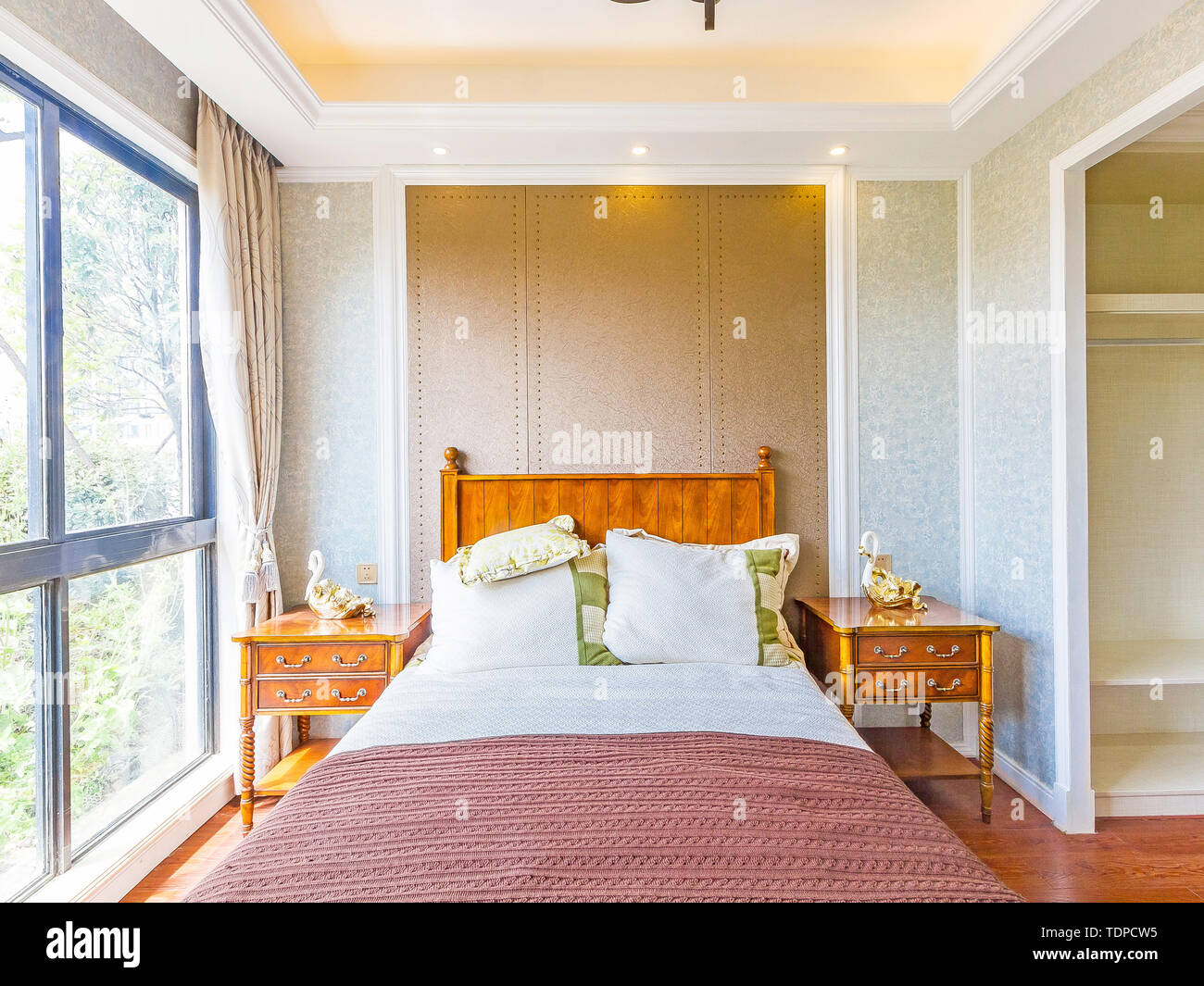 Bedroom Sleep Comfortable And Comfortable Rest Environment Different Styles Of Decoration Effects Meet Your Visual Feast Stock Photo Alamy