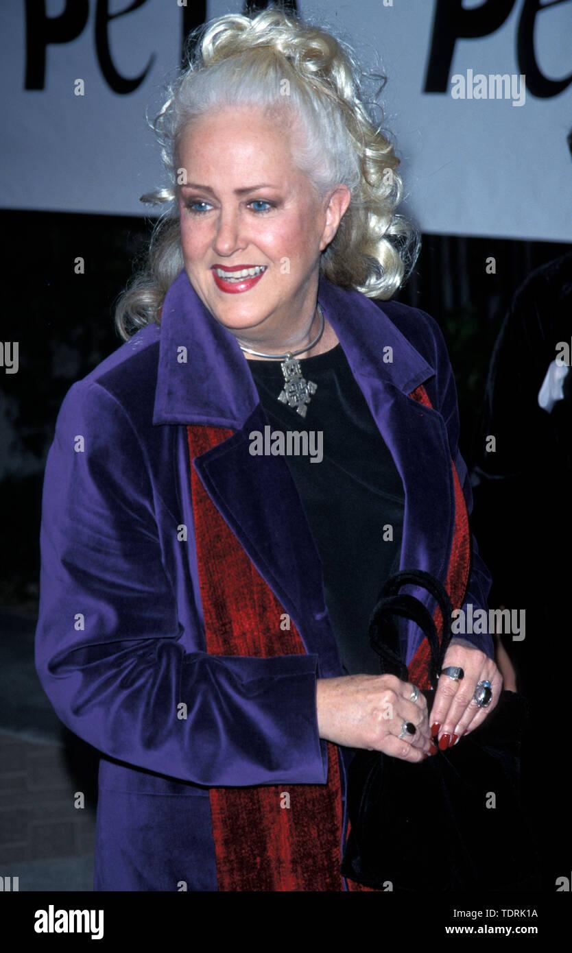 Sep 18, 1999; Los Angeles, CA, USA; Actress GRACE SLICK @ Peta's Party of the Century. (Credit Image: © Chris Delmas/ZUMA Wire) - Stock Image