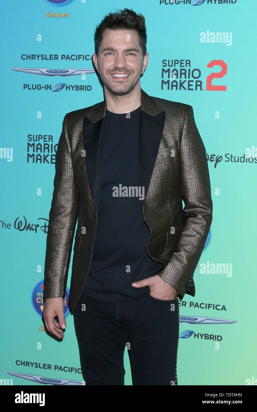 Andy Grammer at arrivals for 2019 ARDYs (fka Radio Disney Music Awards), Studio City, Los Angeles, CA June 16, 2019. Photo By: Priscilla Grant/Everett Collection - Stock Image