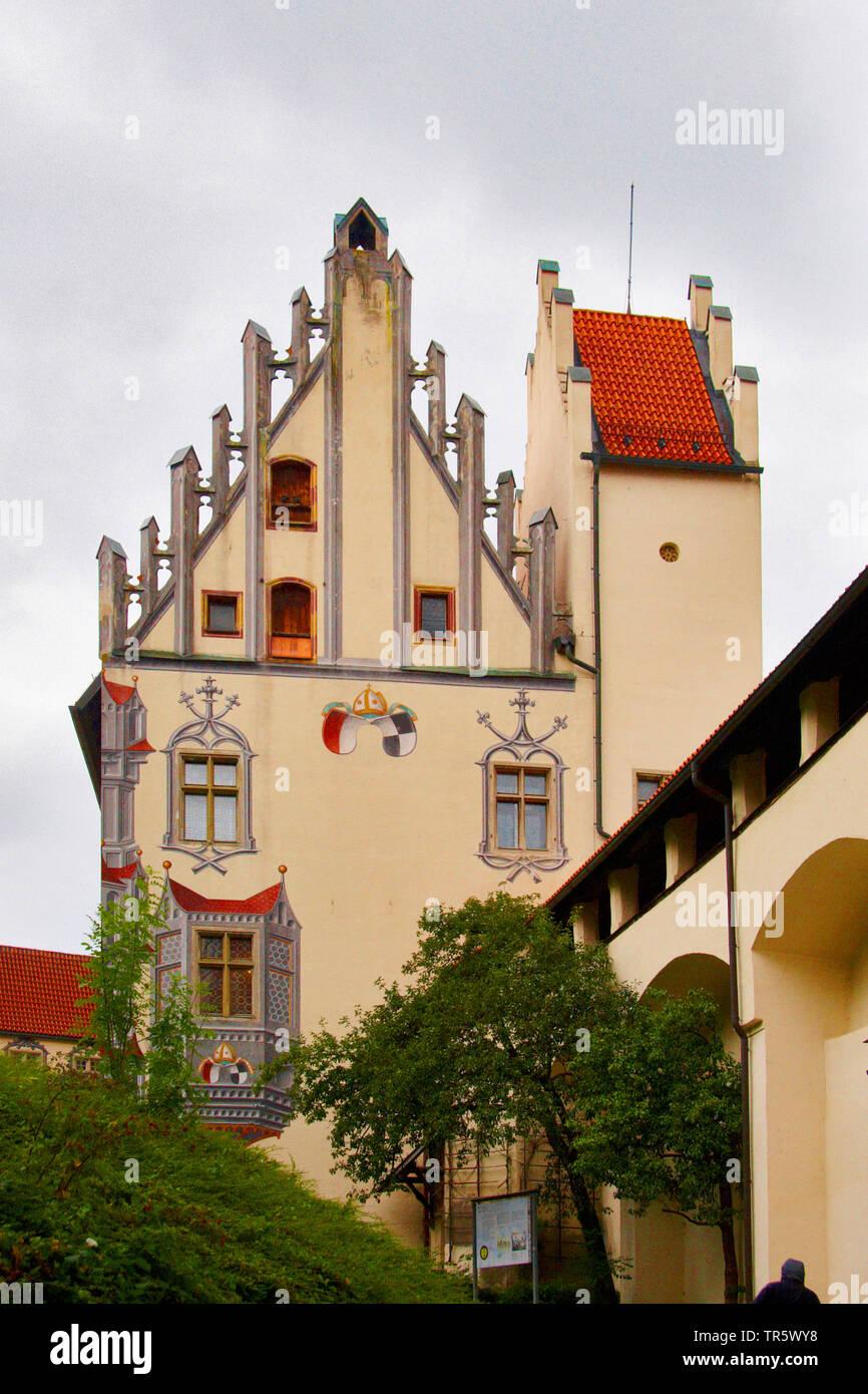 Hohes Schloss Fuessen, Deutschland, Bayern, Allgaeu, Fuessen | palace Hohes Schloss Fuessen, Germany, Bavaria, Allgaeu, Fuessen | BLWS467048.jpg [ (c) - Stock Image