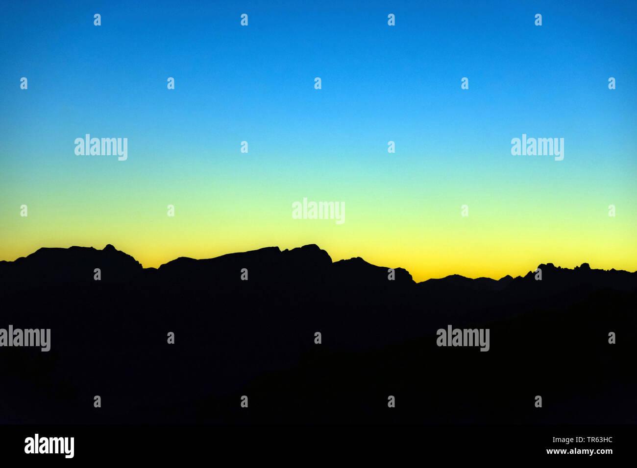 Abendstimmung im Hochschwab, Oesterreich, Steiermark, Hochschwab | Hochschab in evening light, Austria, Styria, Hochschwab | BLWS472550.jpg [ (c) blic - Stock Image