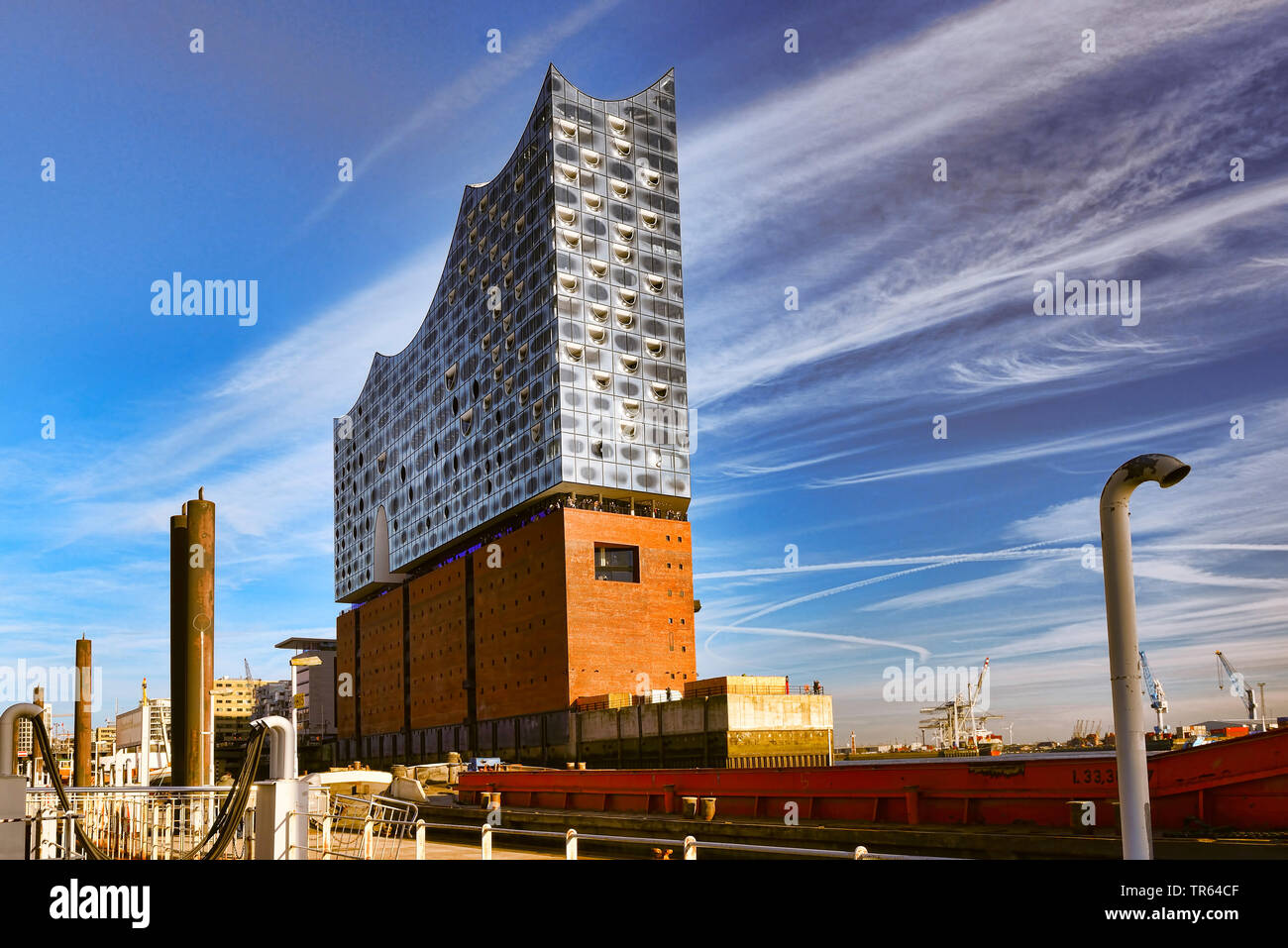 Elbphilharmonie in Hamburg, Germany, Hamburg - Stock Image