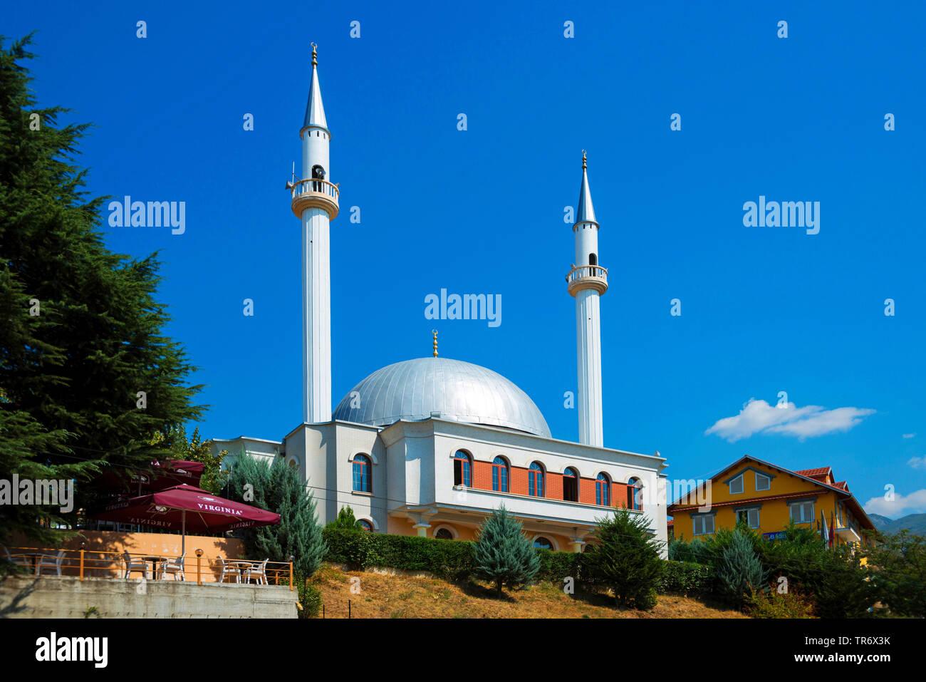 Moschee, Albanien, Peshkopia | mosque, Albania, Peshkopia | BLWS491712.jpg [ (c) blickwinkel/McPHOTO/F. Scholz Tel. +49 (0)2302-2793220, E-mail: info@ - Stock Image