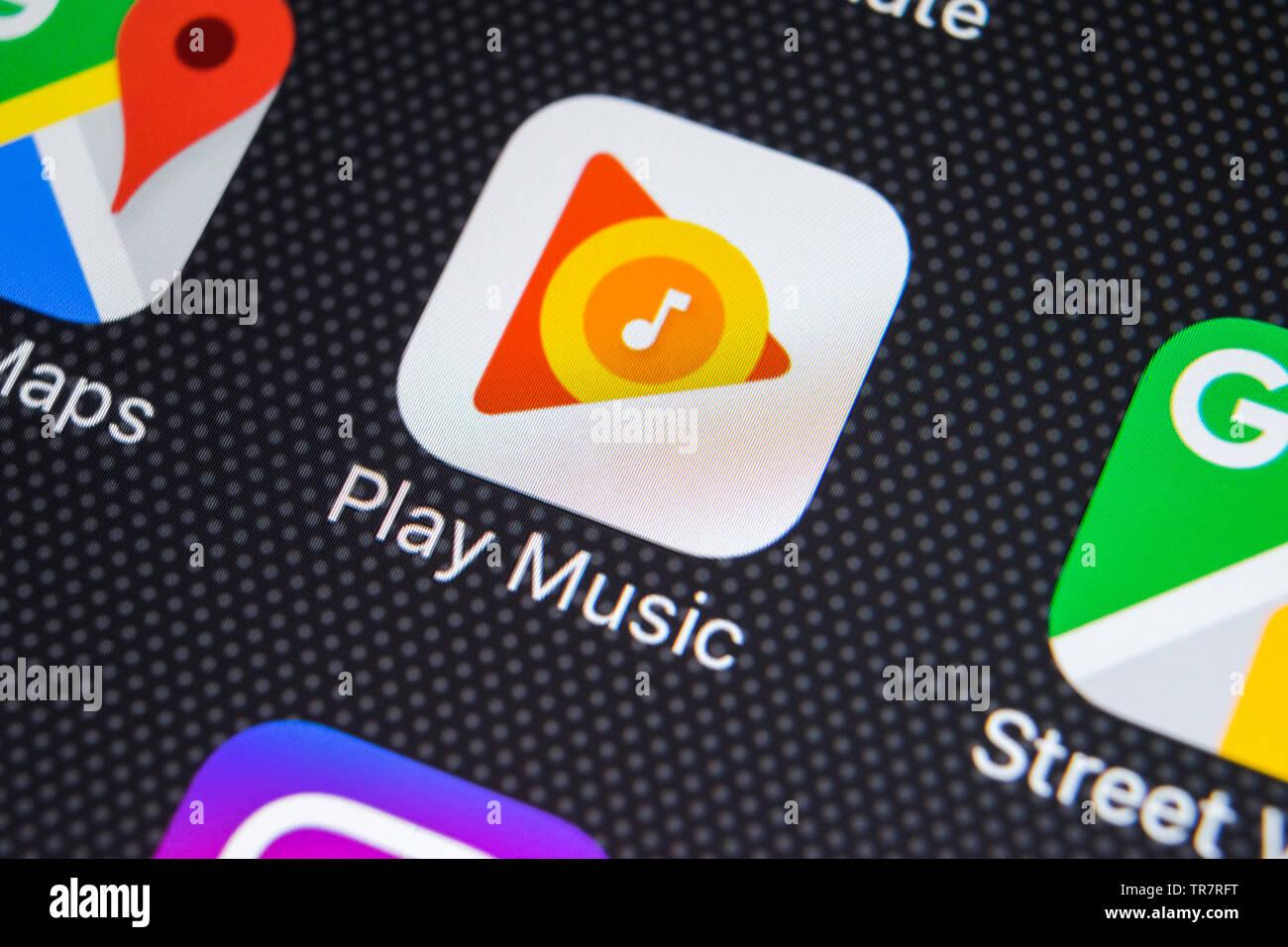 Google Play Music Stock Photos & Google Play Music Stock