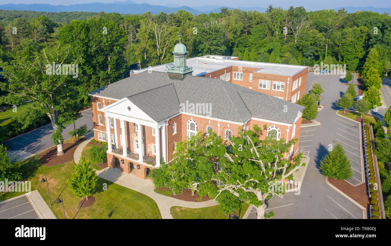 Biltmore School, Asheville, NC, USA - Stock Image