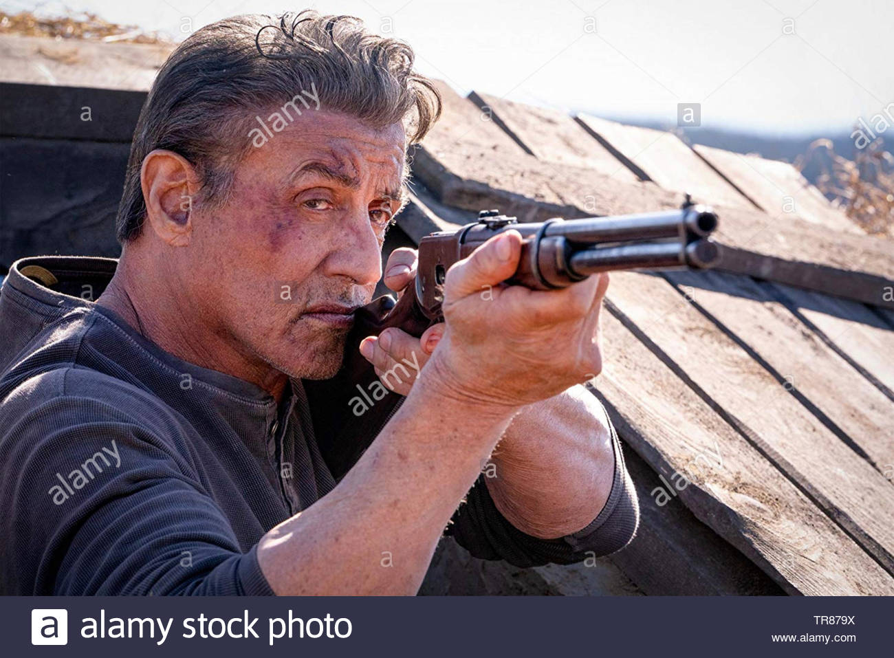RAMBO: LAST BLOOD 2019 Lionsgate film with Sylvester Stallone - Stock Image