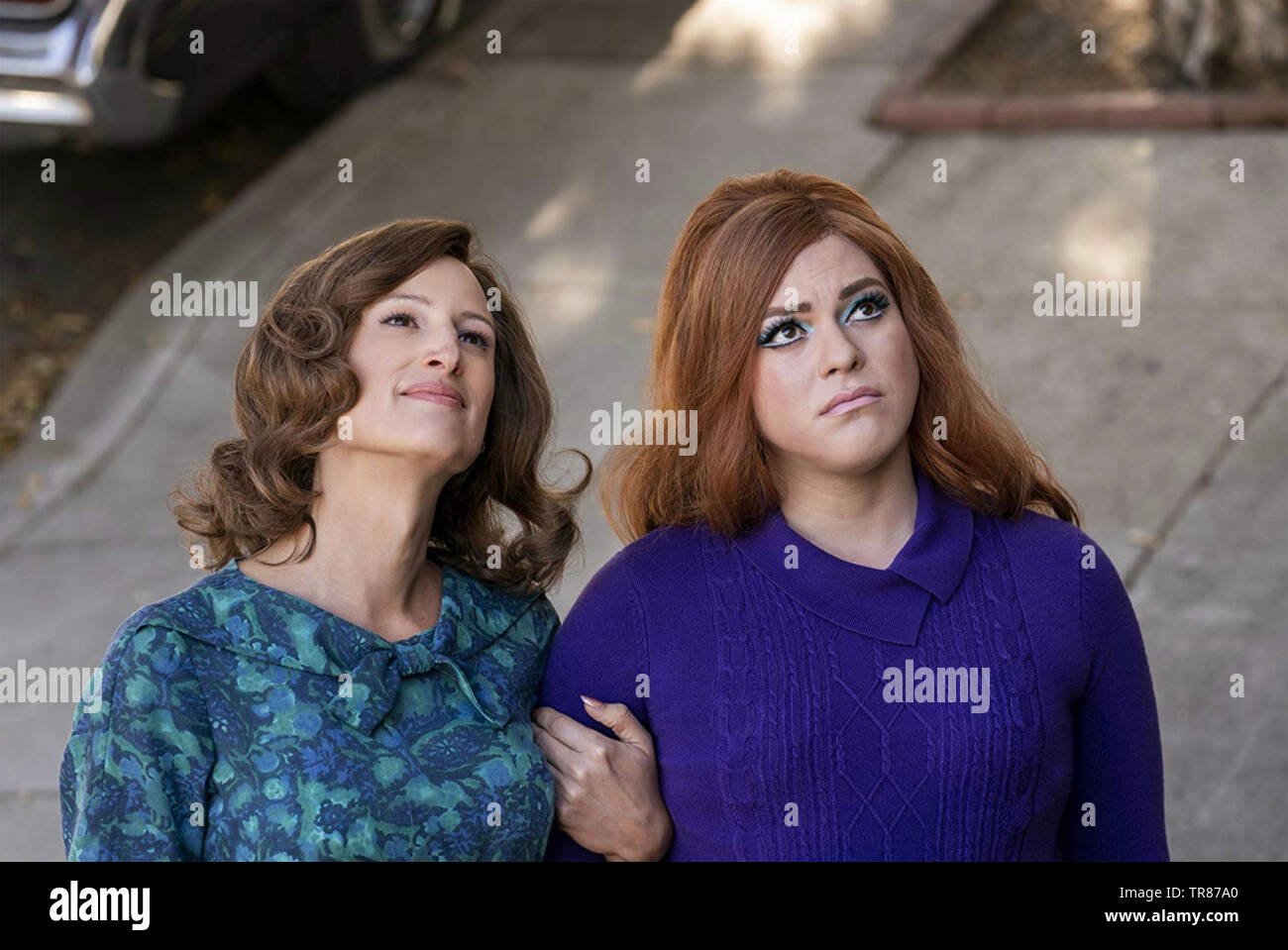TALES OF THE CITY 2019 NetflixTV series with Daniela Vega at left and  Jen Richards - Stock Image