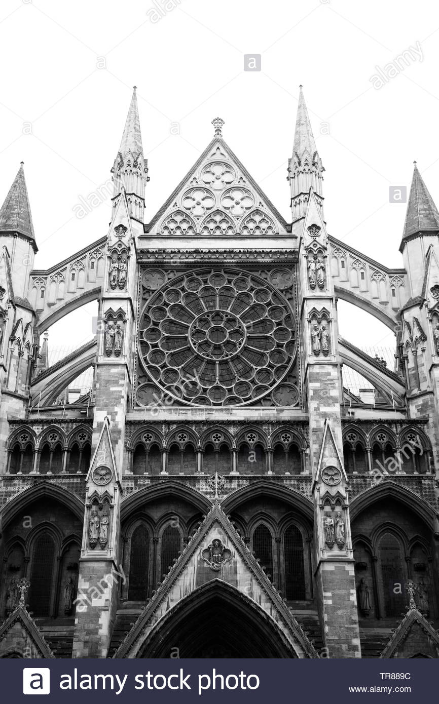 Westminster Abbey, London - Stock Image