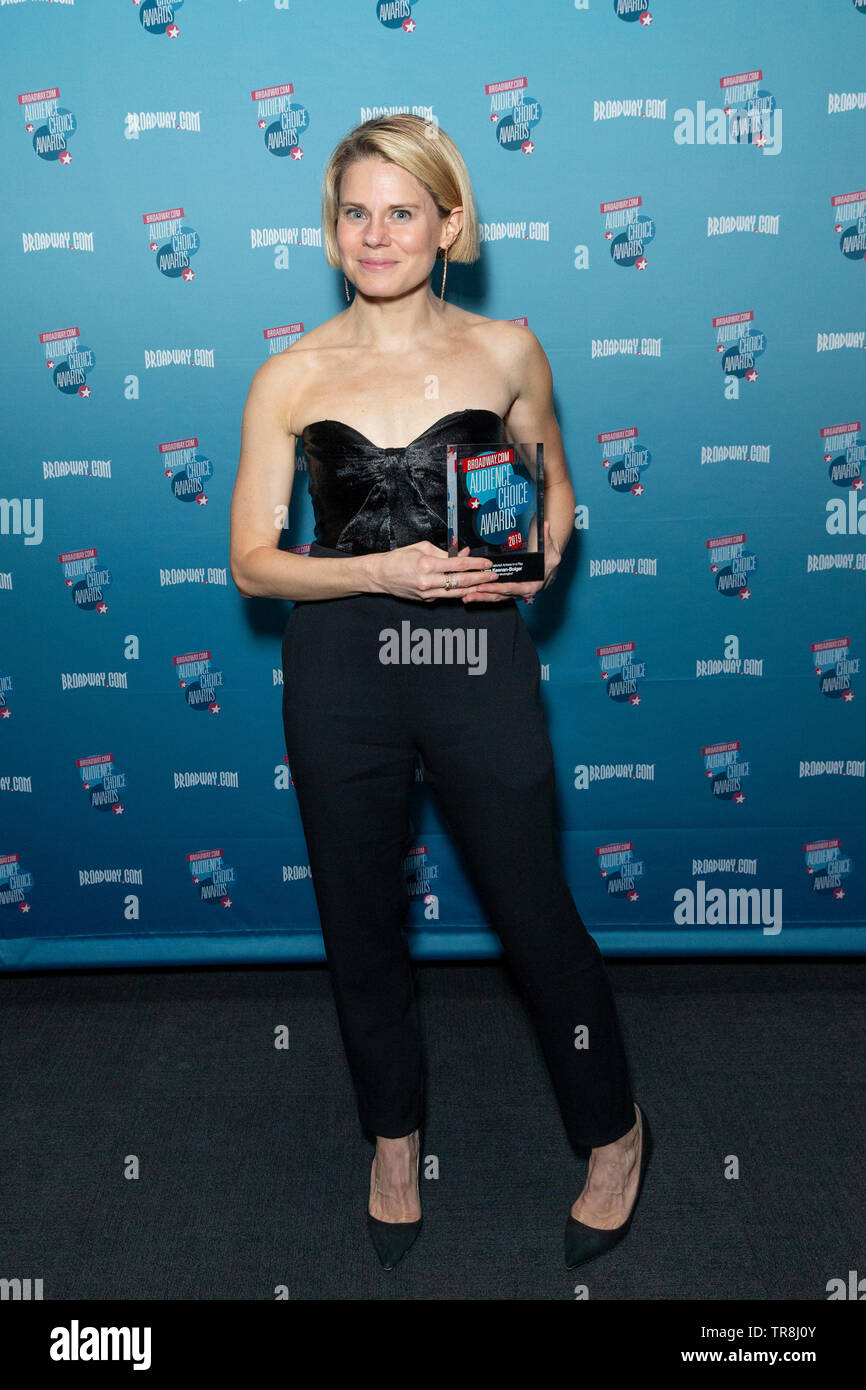 New York, NY - May 30, 2019: Celia Keenan-Bolger attends Broadway.com Audience Choice Awards at 48 Lounge - Stock Image