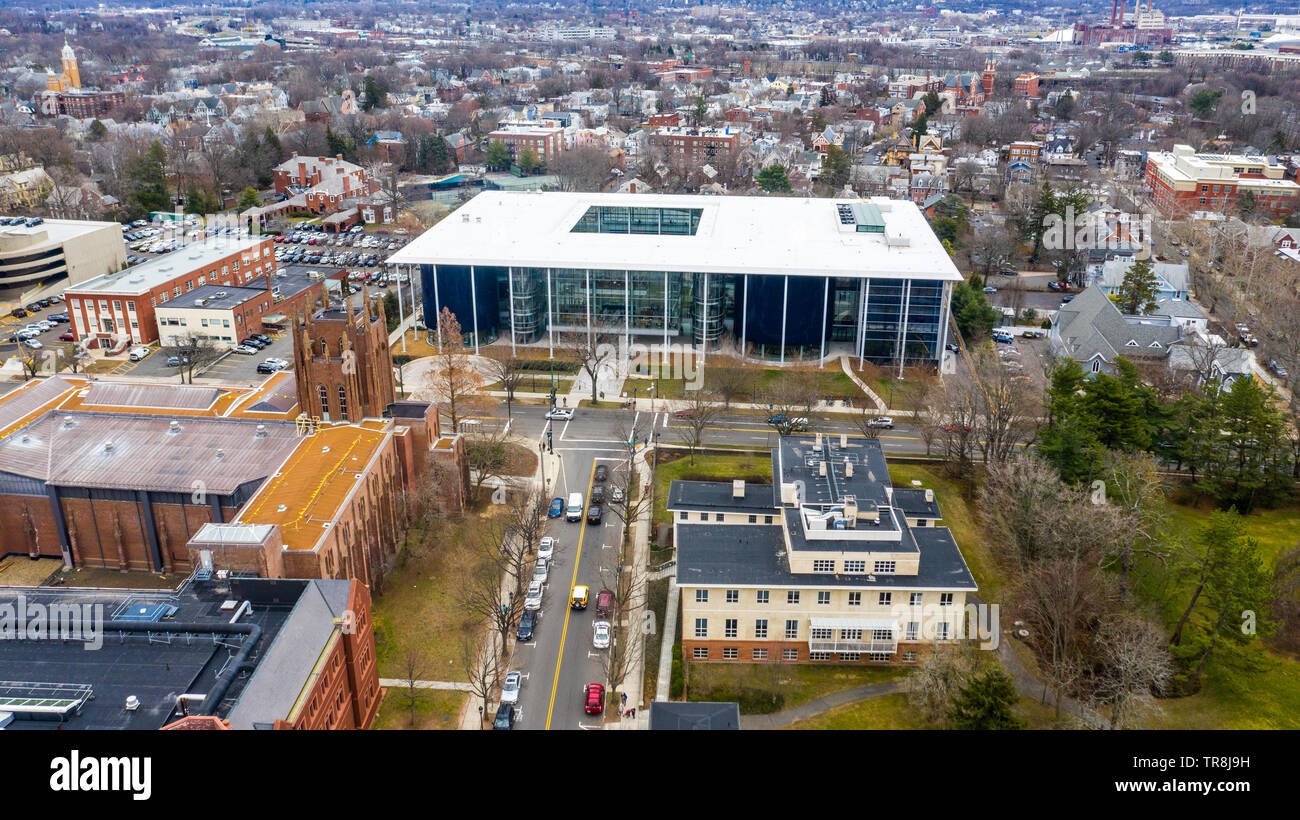 Yale School of Management or SOM, New Haven, CT, USA - Stock Image