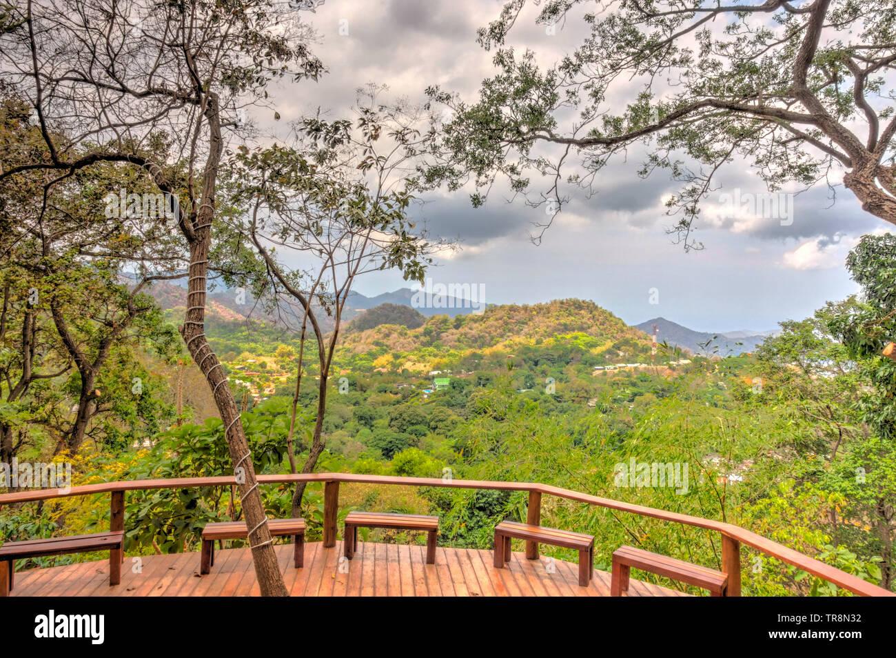 Minca Colombia Stock Photo Alamy