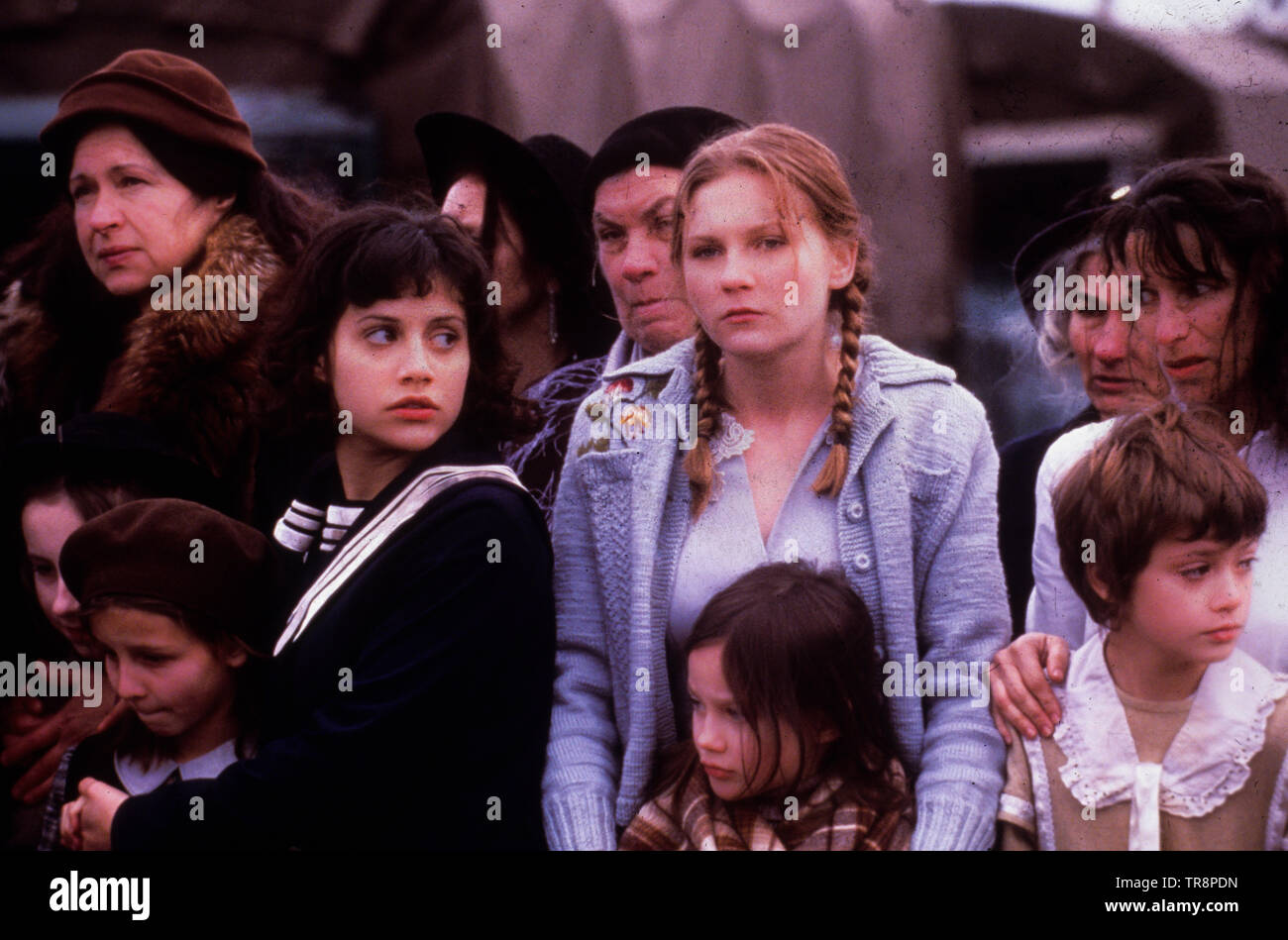 kirsten dunst, brittany murphy, the devil's arithmetic, 1999 - Stock Image