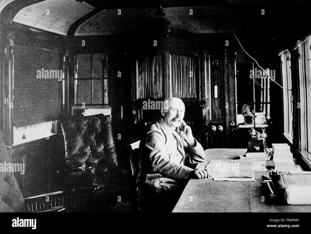 henri-philippe-omer petain, french general and politician - Stock Image