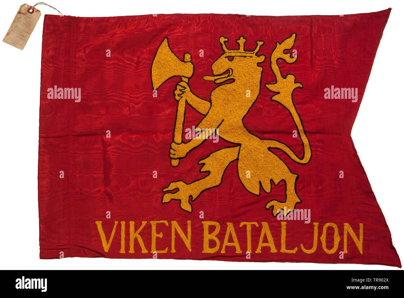 A Waffen-SS flag