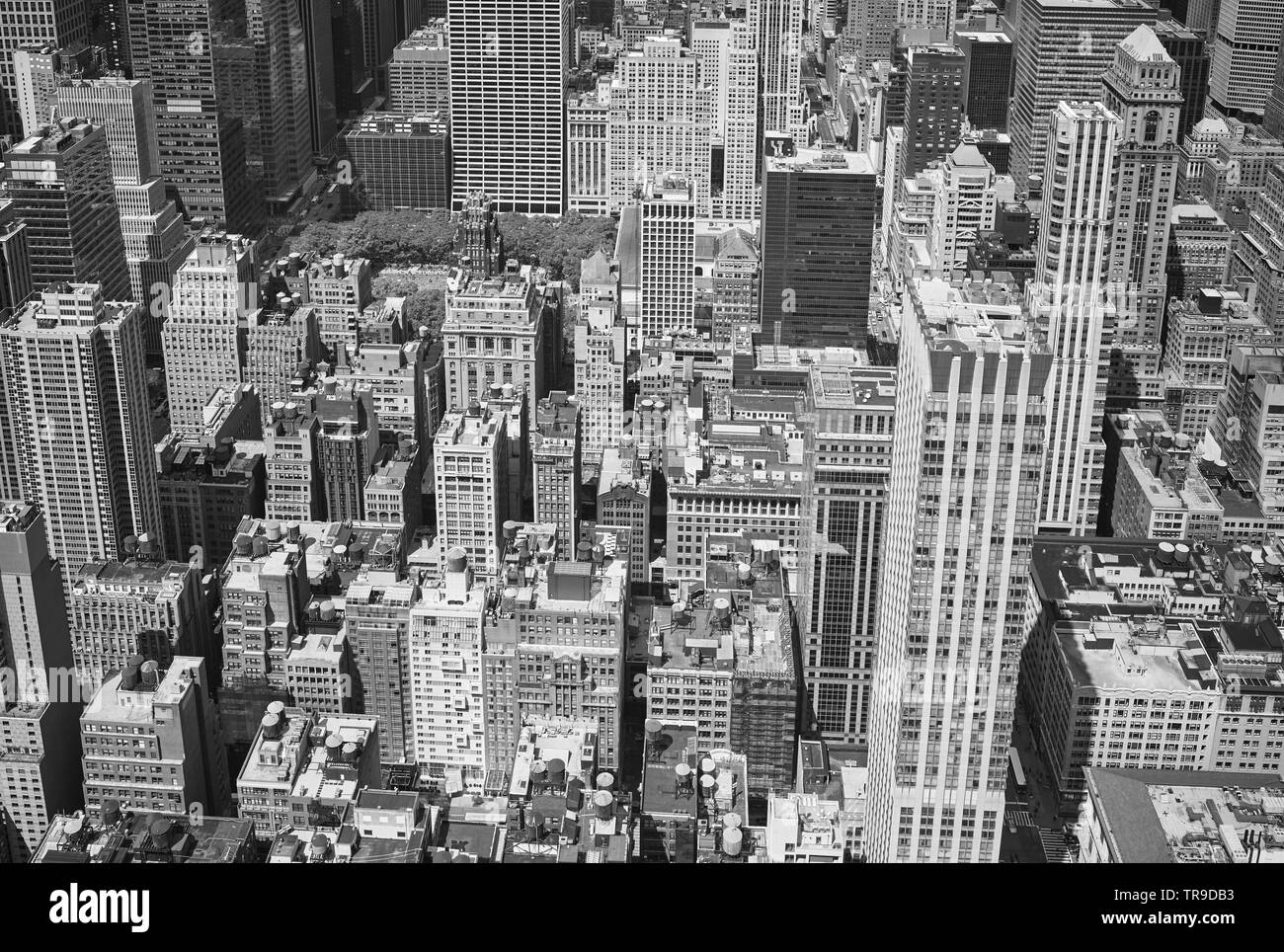 Black and white aerial photo stock photos black and white aerial