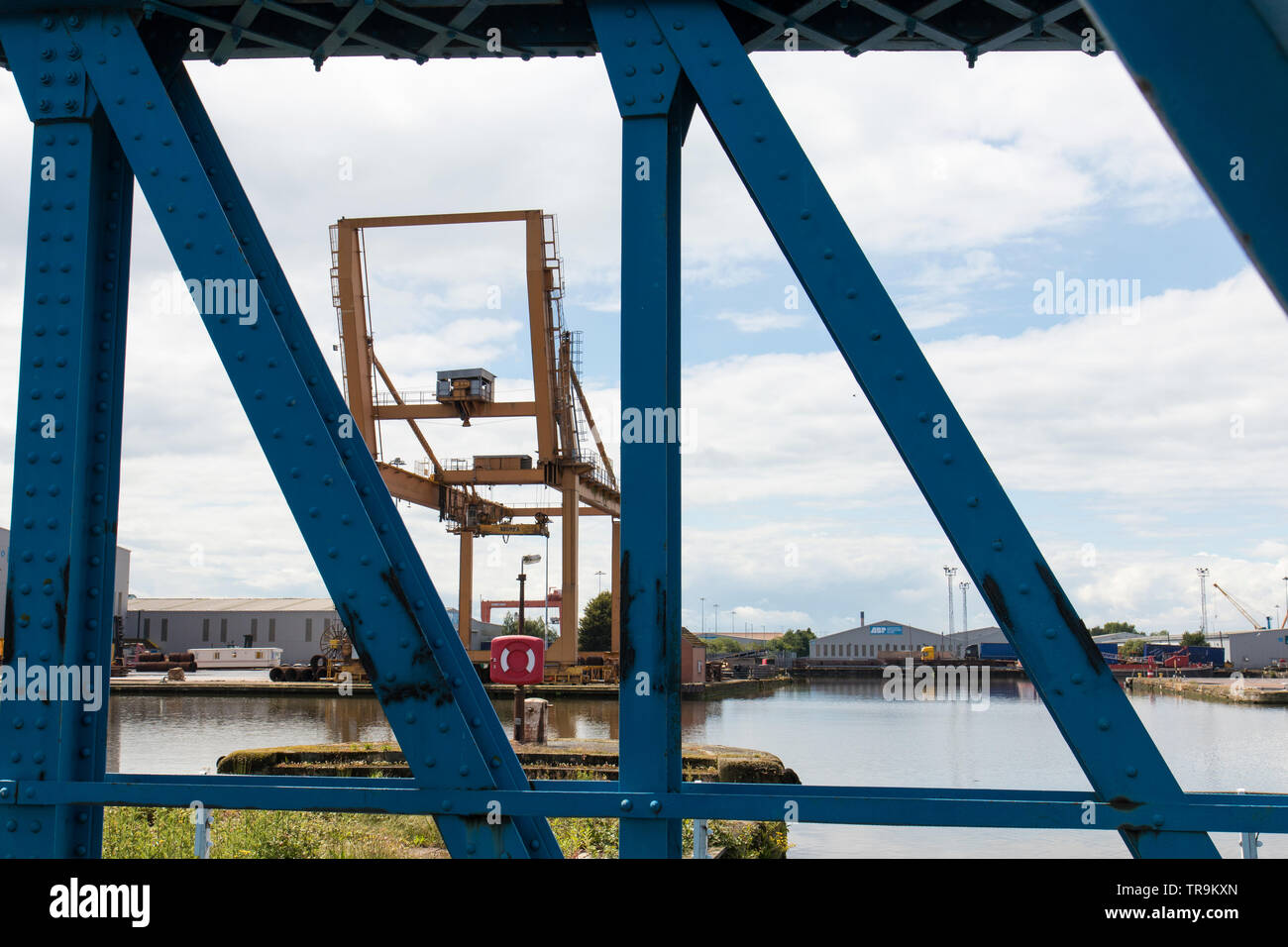 Goole, inland port, in May 2019 Stock Photo