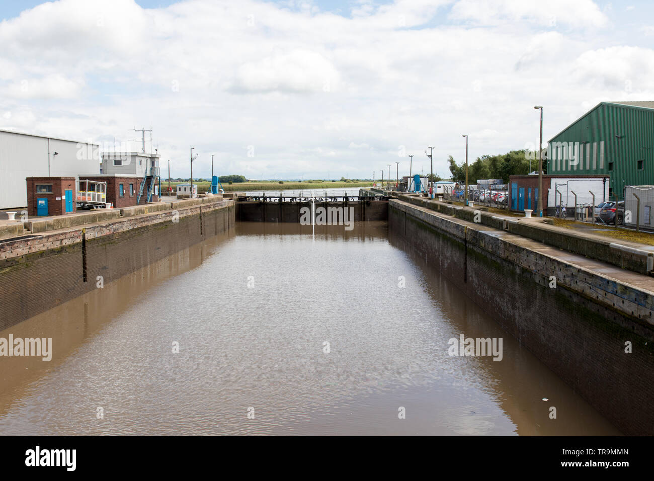 Goole, inland port, in May 2019 - Stock Image