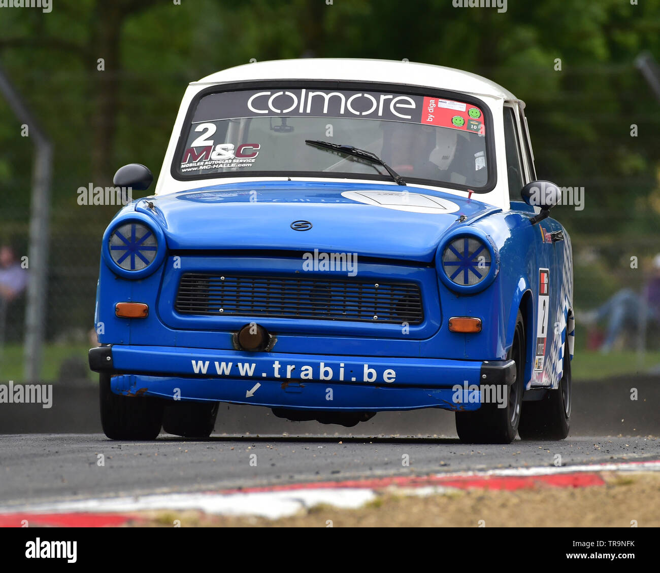 Bart Lemaire, Trabant 601 RS, Youngtimer Touring Car Challenge, YTCC, Masters Historic Festival, Brands Hatch, May 2019. Brands Hatch, classic cars, c - Stock Image