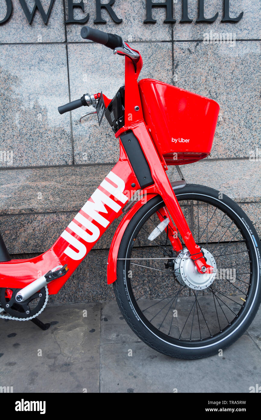 Uber's GPS tracked, electric pedal-assist JUMP bikes have