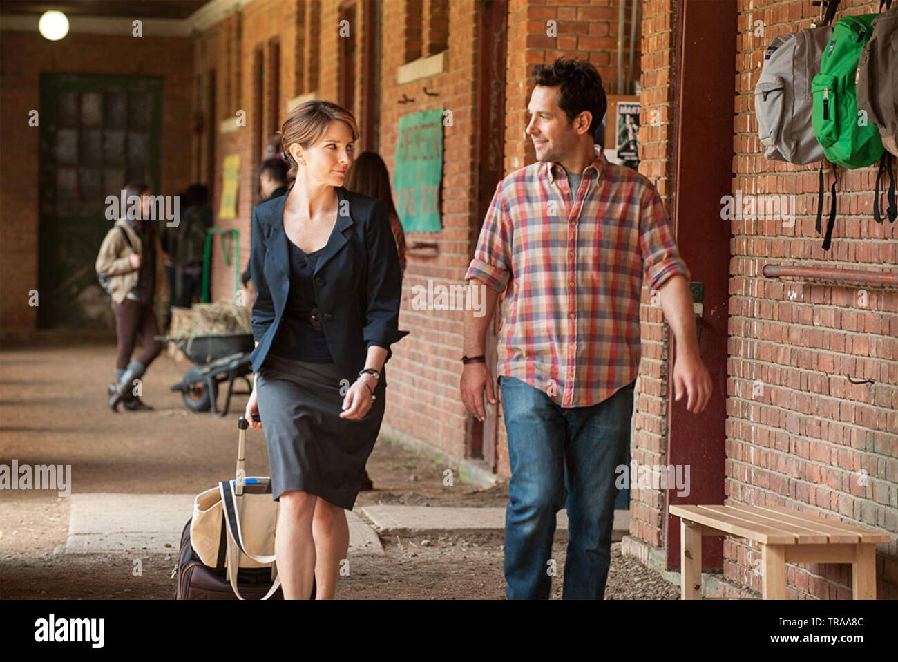 ADMISSION 2013 Focus Features film with Tina Fey and Paul Rudd - Stock Image