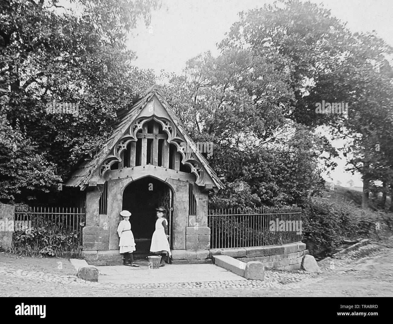 The Well, Budworth - Stock Image