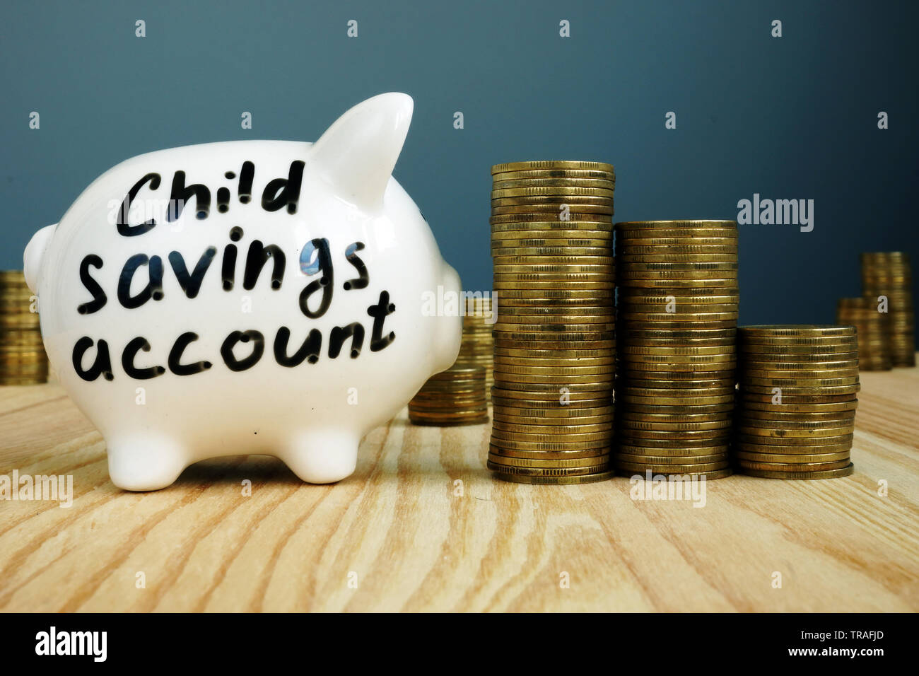 Kids Piggy Bank High Resolution Stock Photography And Images Alamy