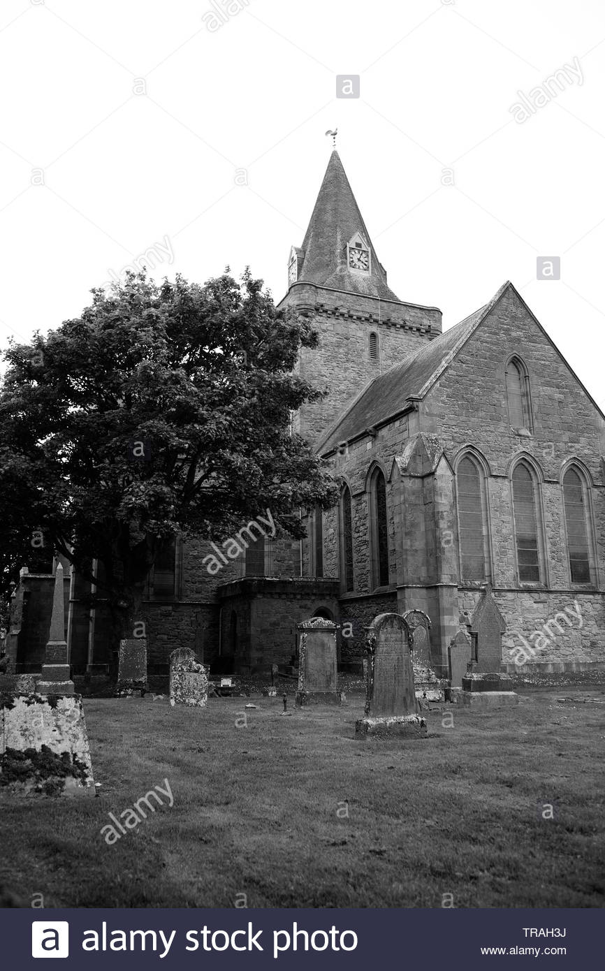 Dornoch Cathedral, Scotland Stock Photo