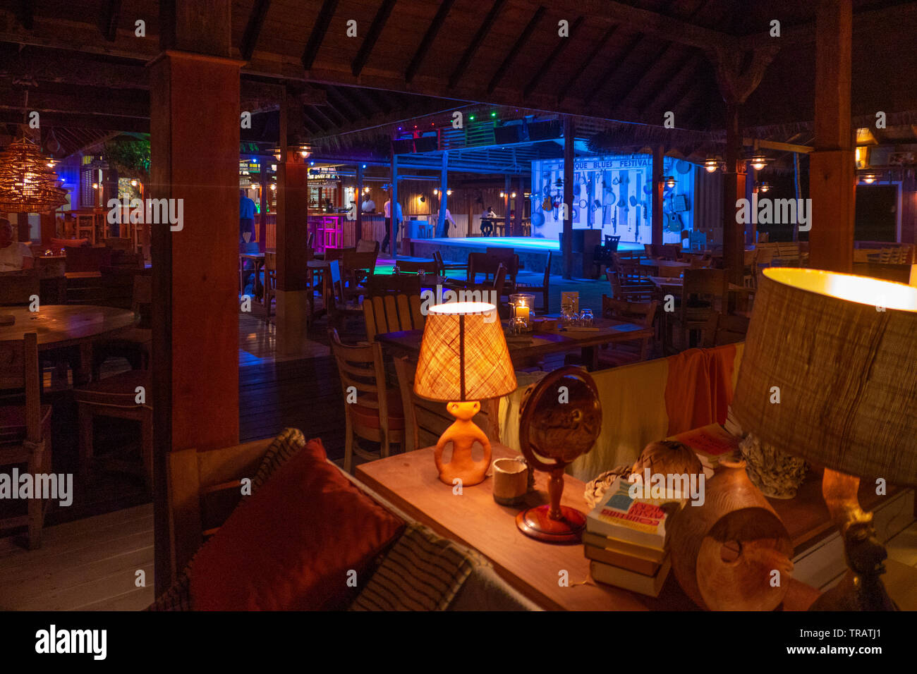 Refurbished Bar And Dance Floor At Basil S Bar Mustique 2019