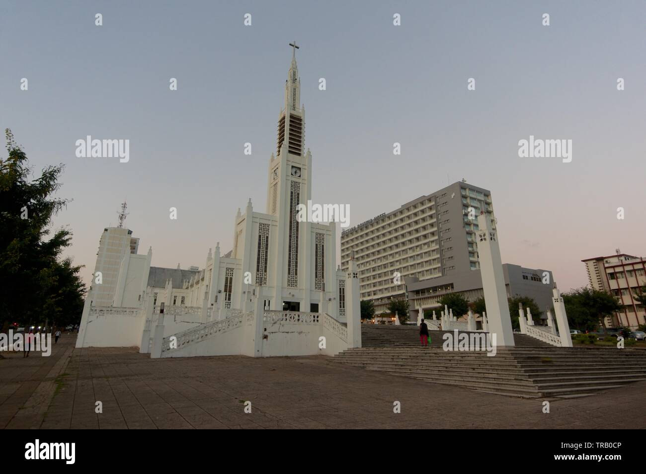 Cathedral of Our Lady of the Immaculate Conception, Maputo, Mozambique Stock Photo