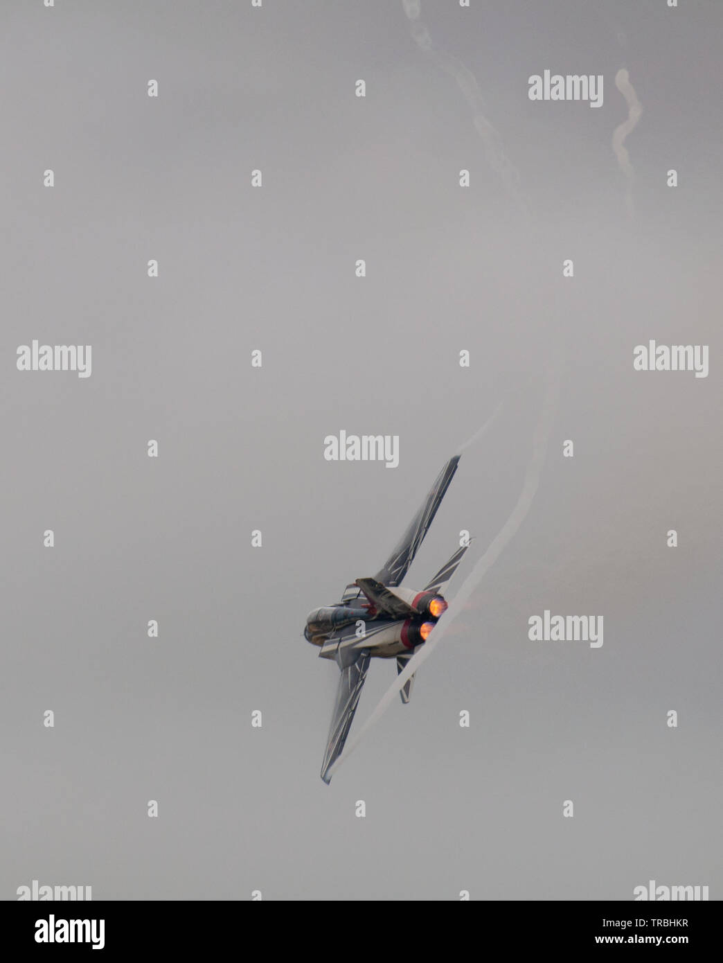Spanish Air Force EF-18A Hornet Stock Photo