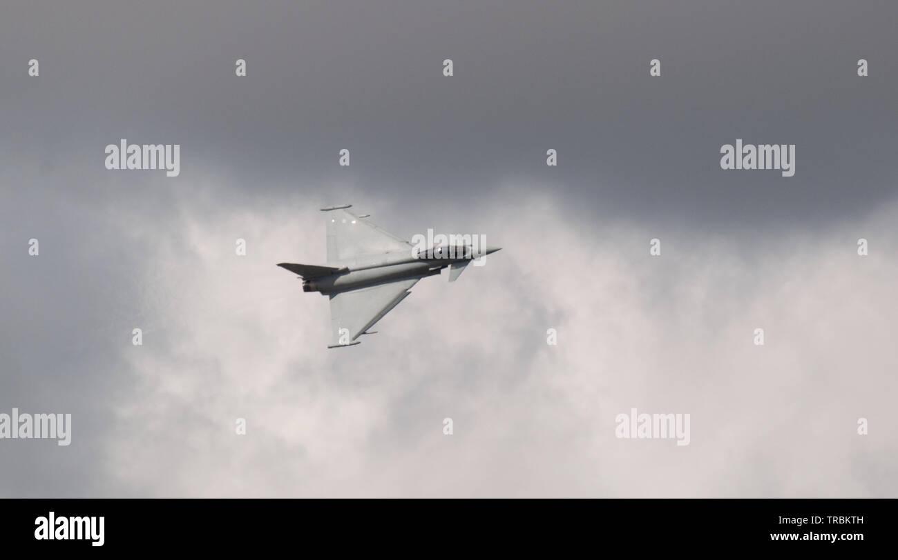RAF Typhoon FGR4 - Stock Image