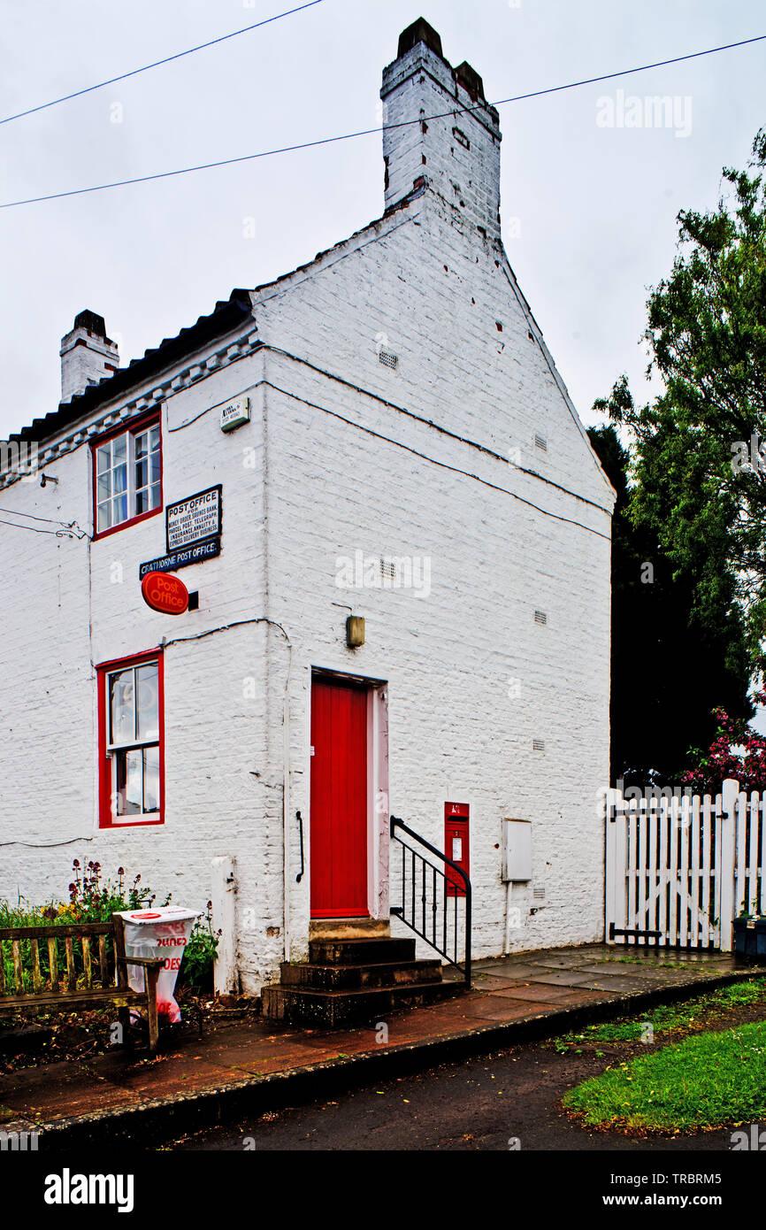 Crathorne Post Office, Crathorne, North Yorkshire, England Stock Photo