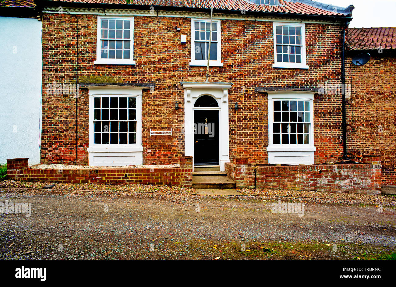 Raby House, Chapel Row, Sadberge, Borough of Darlington, England Stock Photo