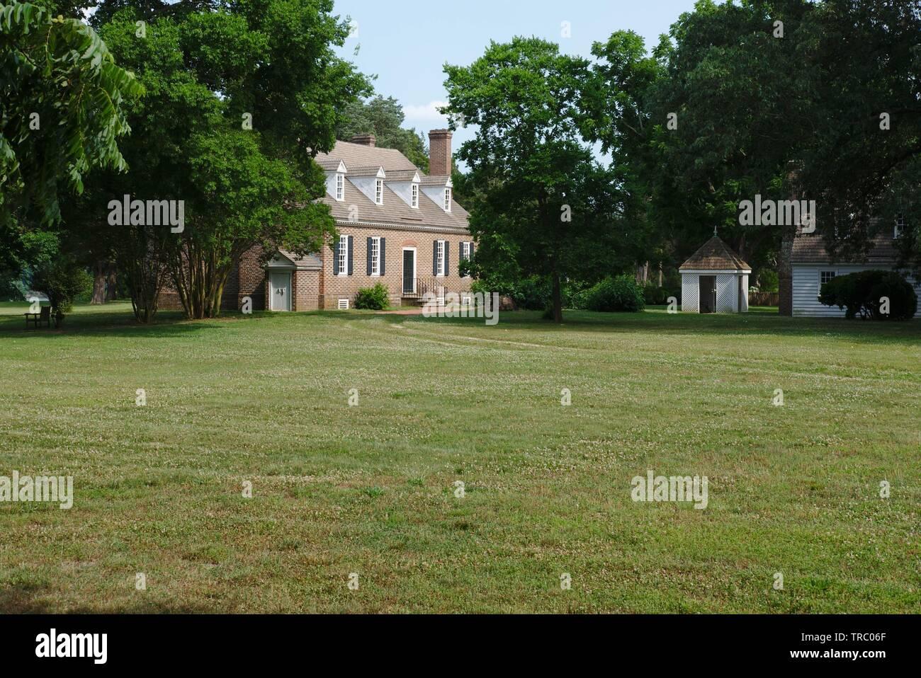 Washington family home  George Washington Bitrthplace