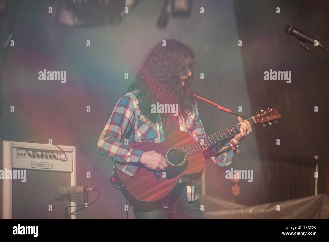Kurt Vile at Primavera Sound 2019 - Stock Image