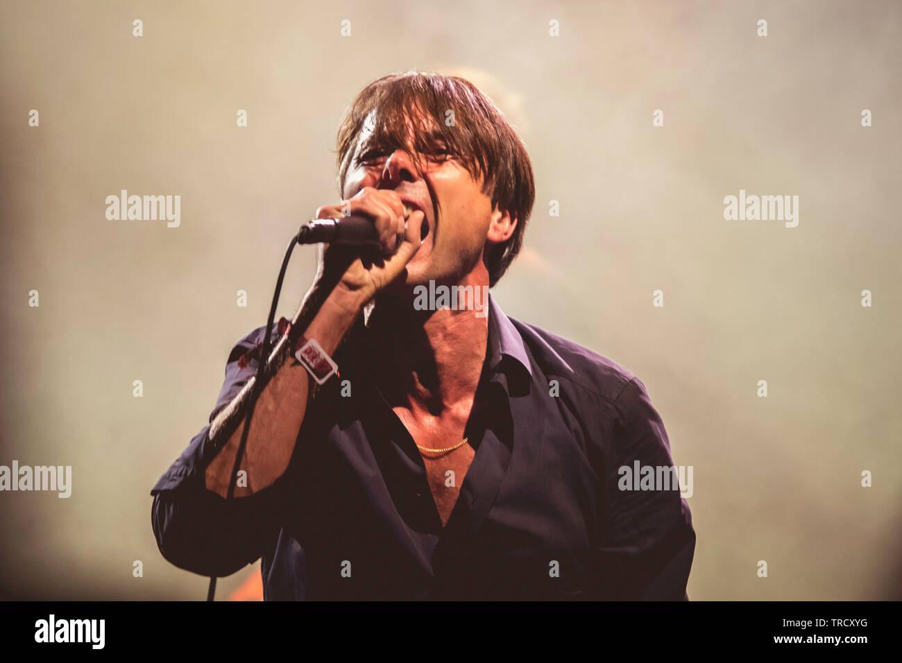 Suede at Primavera Sound 2019 - Stock Image