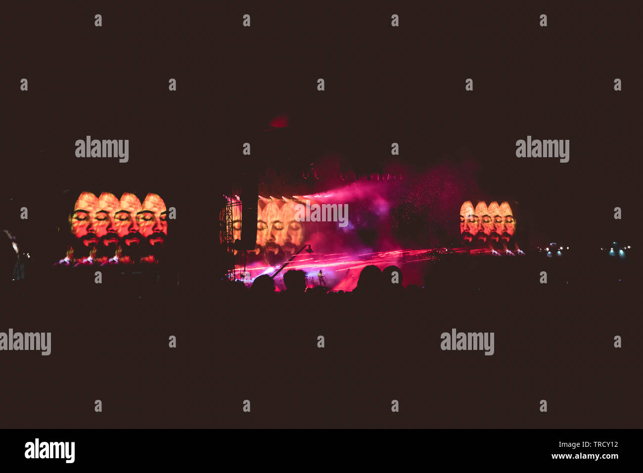 Tame Impala at Primavera Sound 2019 - Stock Image