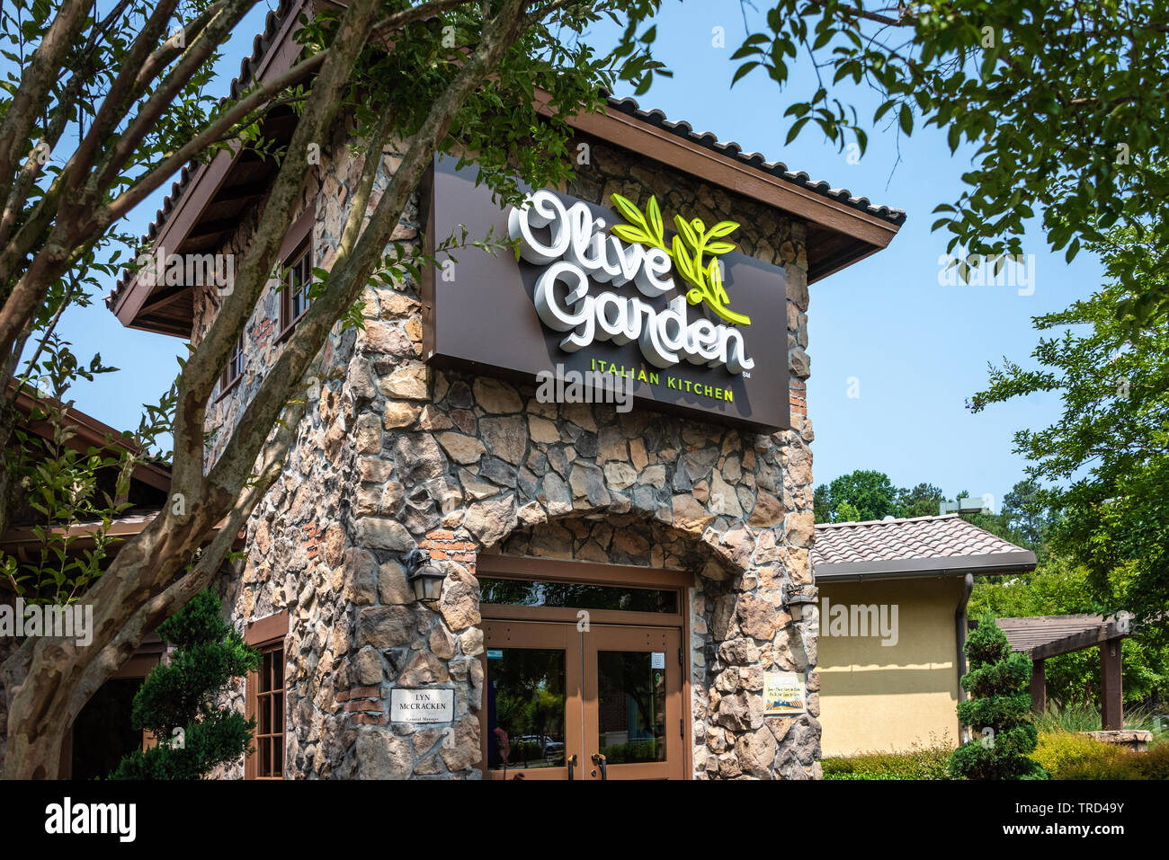 Olive Garden Restaurant High Resolution Stock Photography And Images Alamy