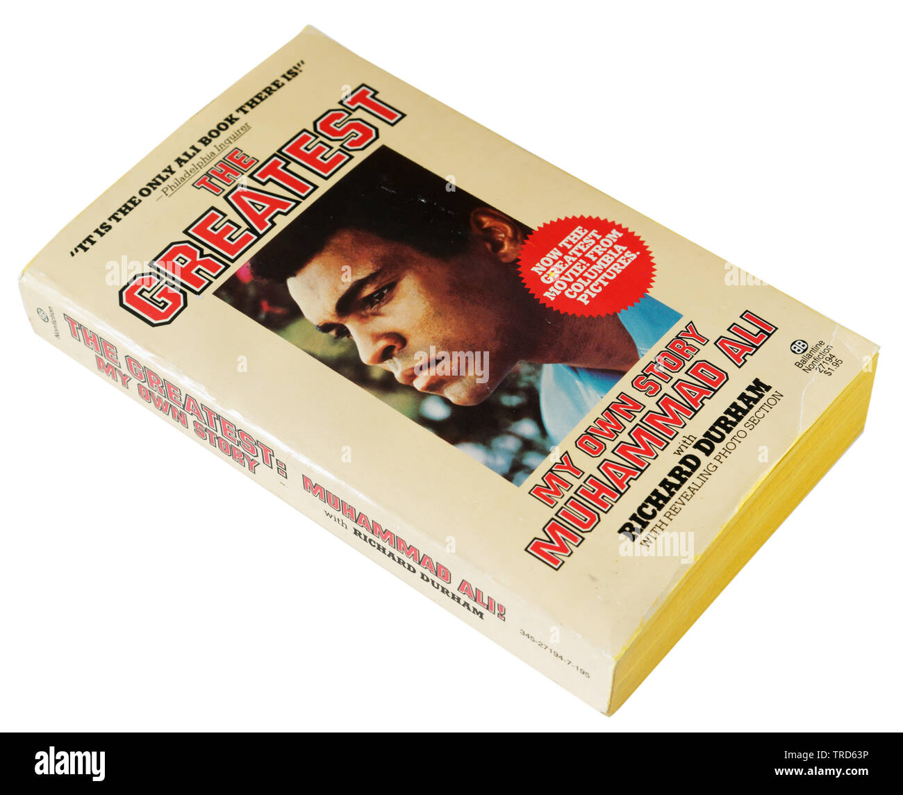 The Greatest by Muhammad Ali - Stock Image