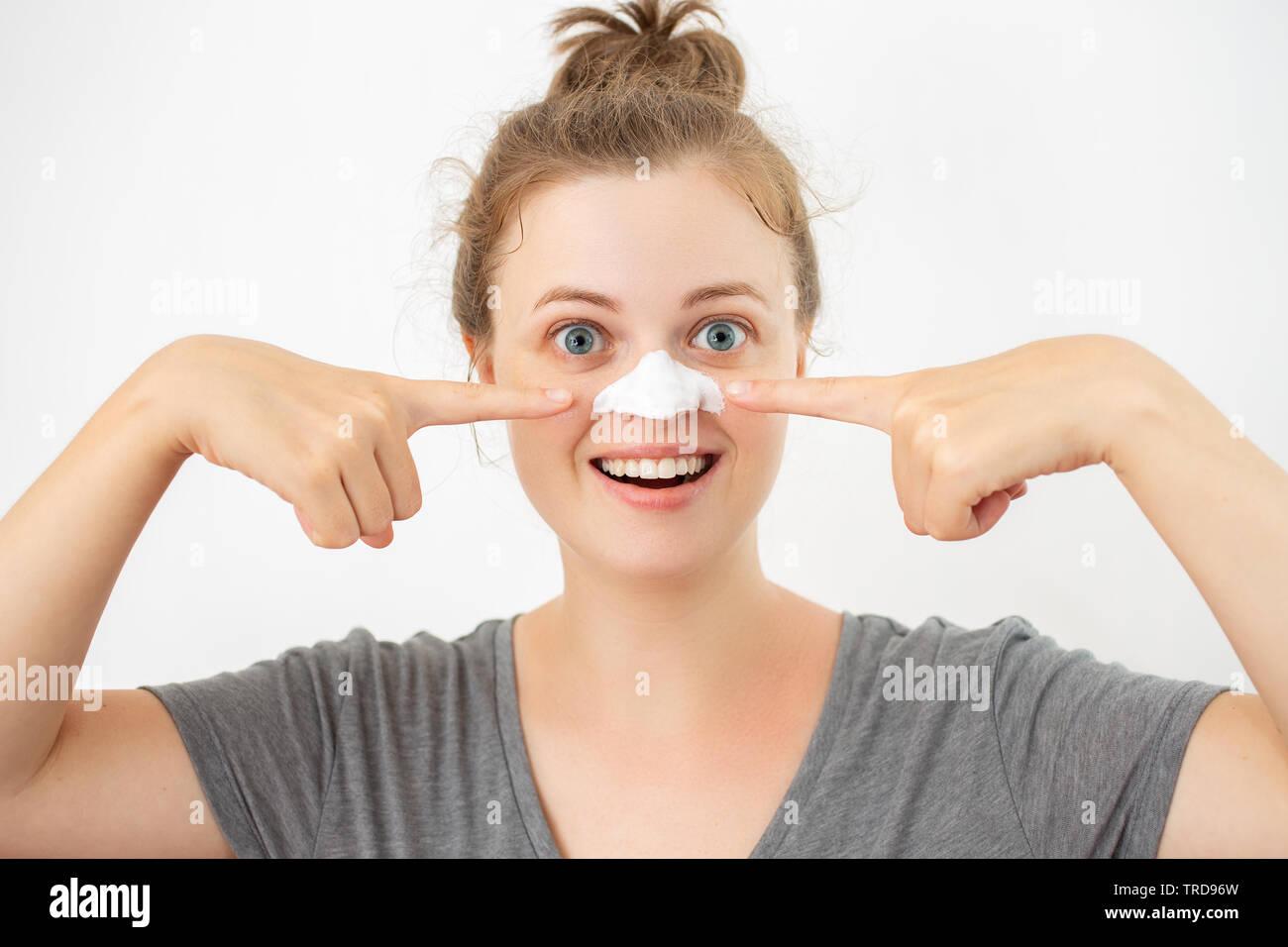 Blackhead Nose Stock Photos & Blackhead Nose Stock Images - Alamy