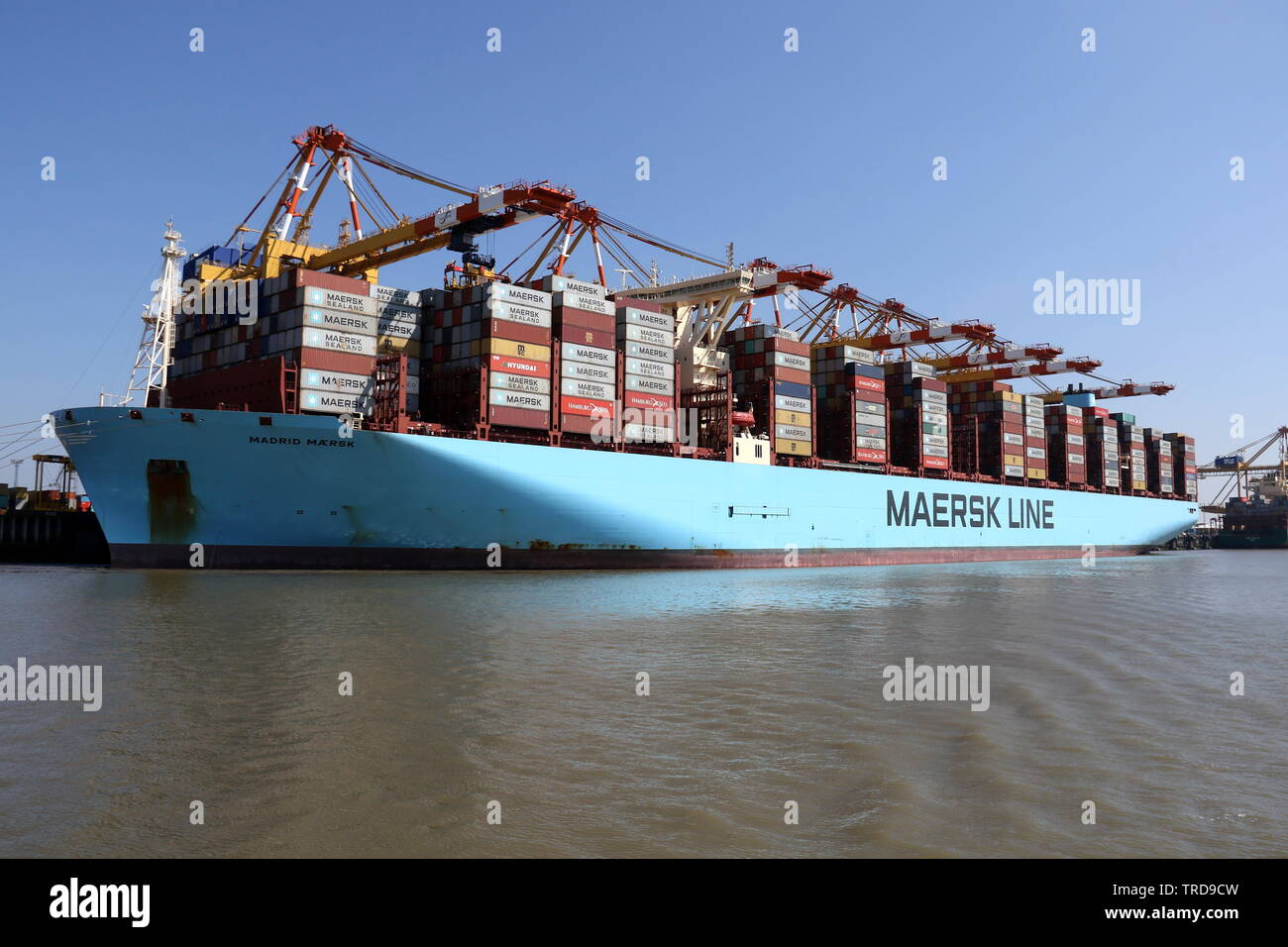 Madrid Maersk Stock Photos & Madrid Maersk Stock Images - Alamy