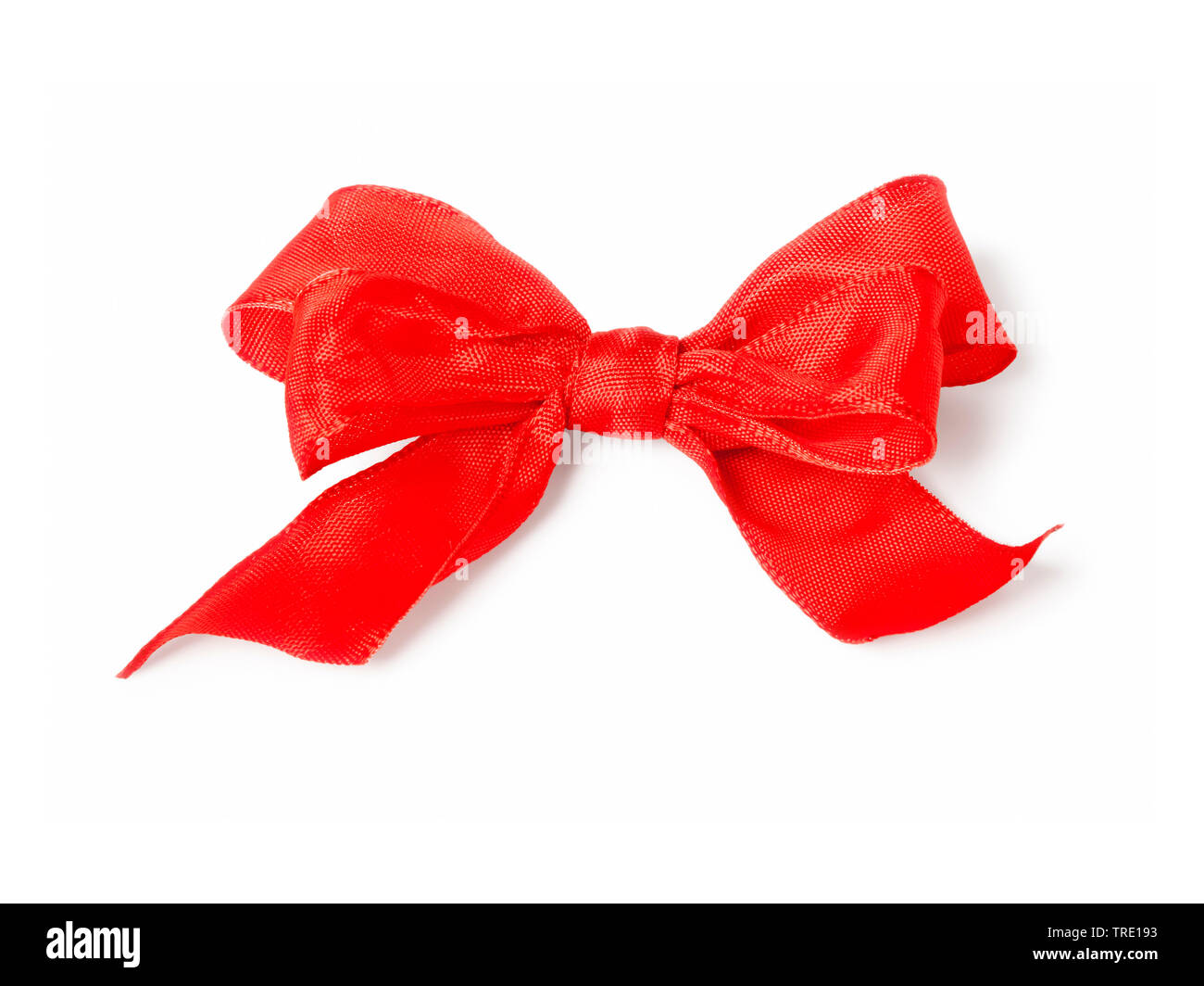 red bow, Bundesrepublik Deutschland Stock Photo