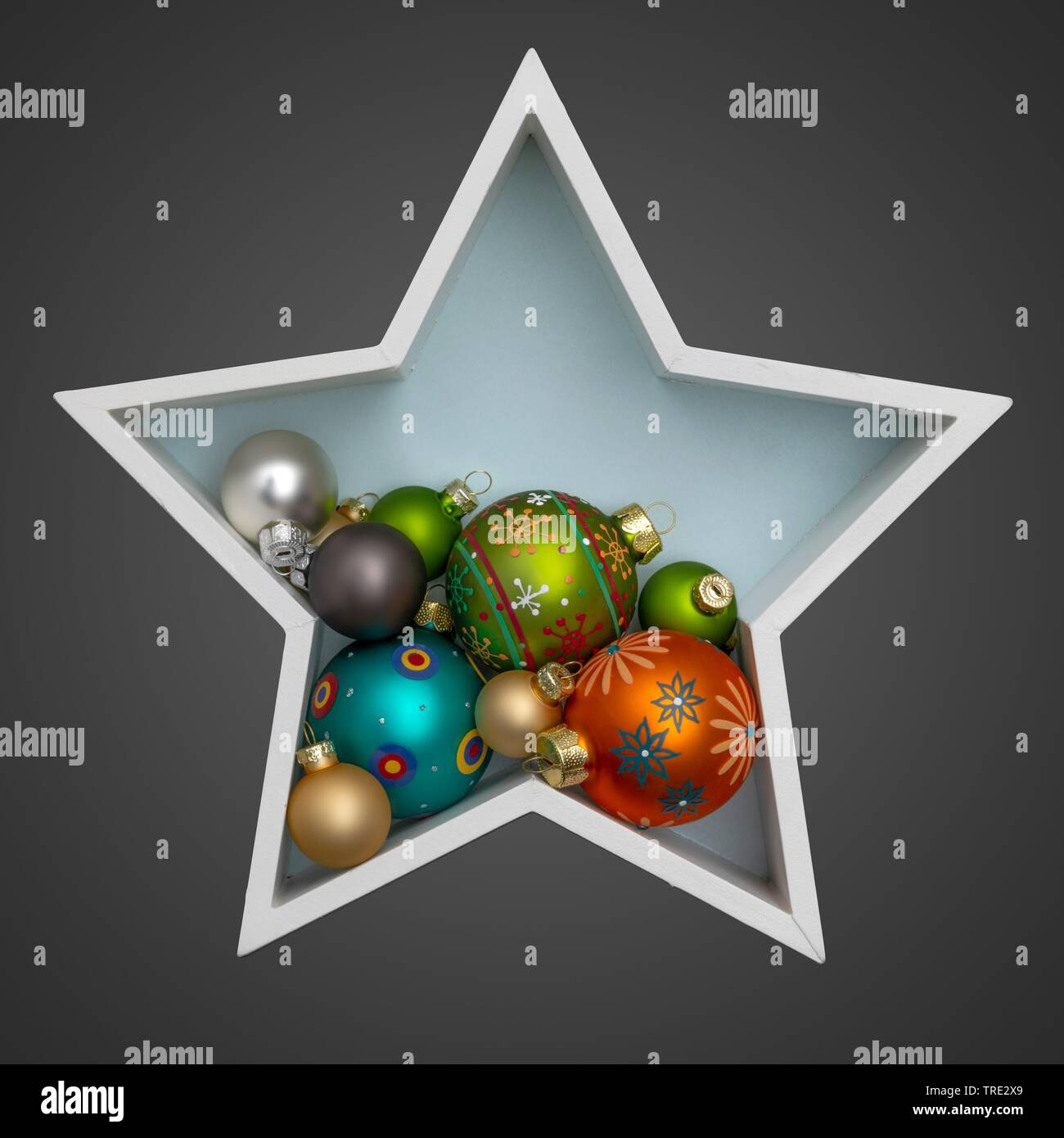 Christbaumkugeln Cappuccino.Sternfoermig Stock Photos Sternfoermig Stock Images Alamy