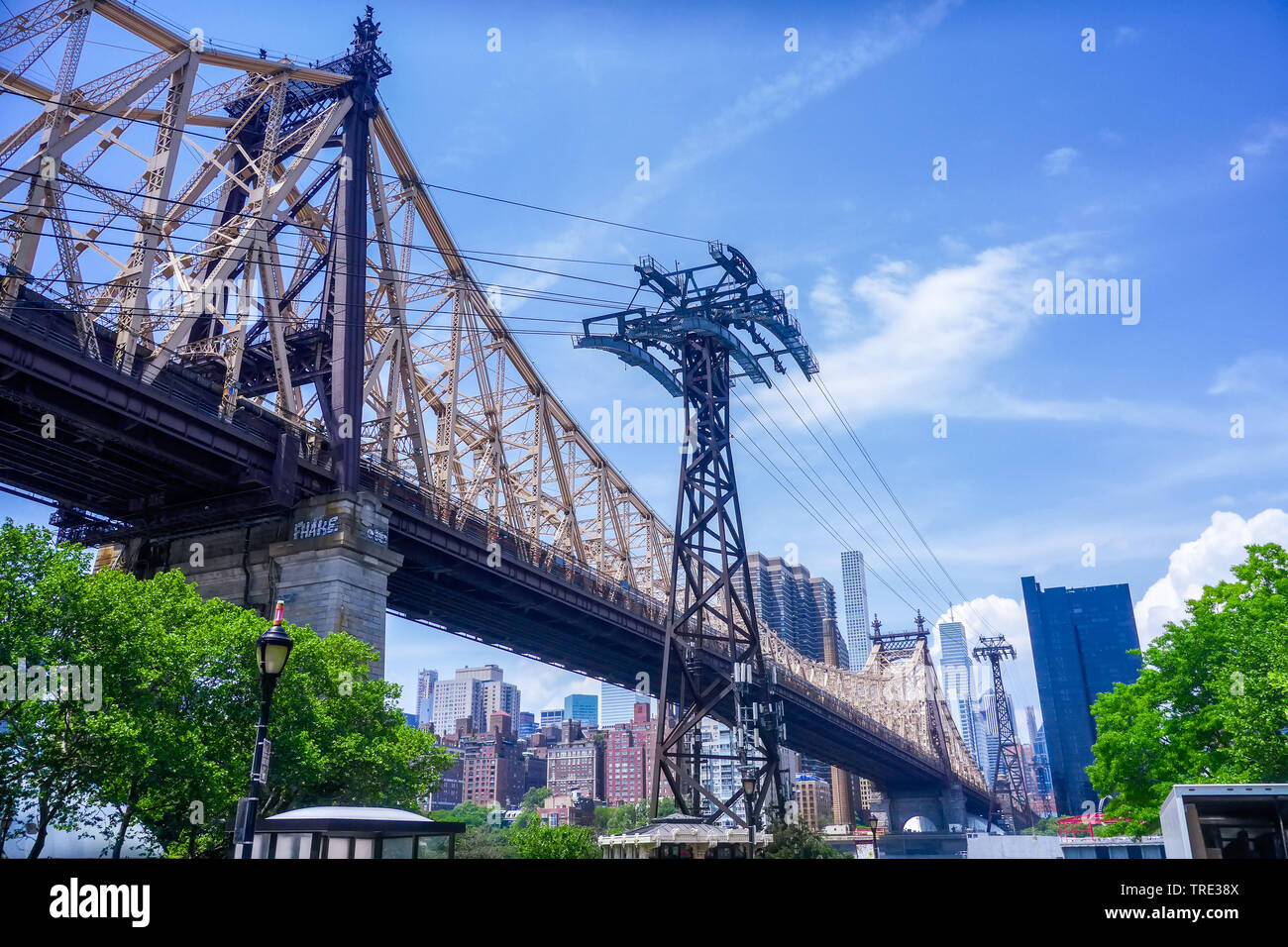 Queensboro Bruecke, USA, New York City | Queensboro Bridge, USA, New York City | BLWS516049.jpg [ (c) blickwinkel/McPHOTO/M. Gann Tel. +49 (0)2302-279 - Stock Image