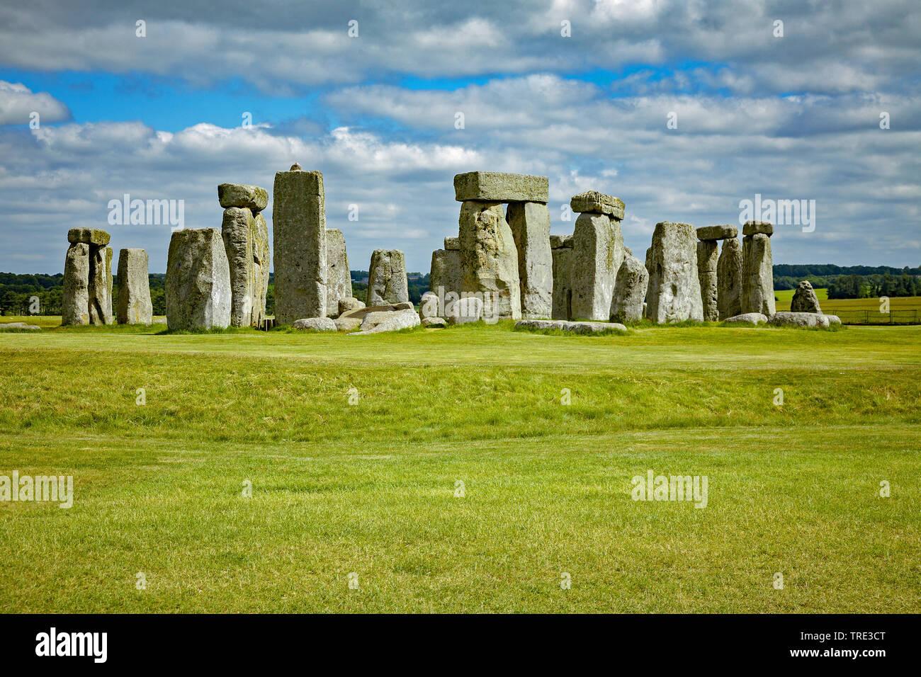 Stonehenge in England, United Kingdom, England Stock Photo